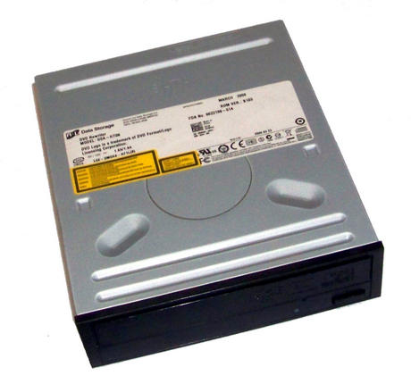 Dell DM692 SATA H/H DVD-RW Drive with Black Bezel | Model GSA-H73N | 0DM692