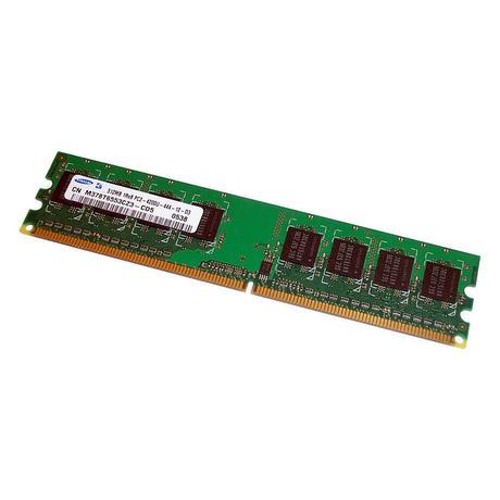 Samsung M378T6553CZ3-CD5 (512MB DDR2 PC2-4200U 533MHz DIMM 240-pin) Memory
