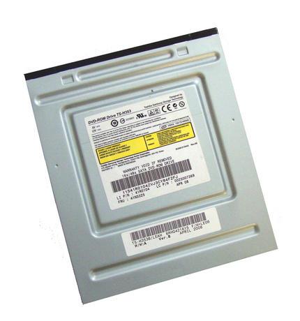 Lenovo 41R0104 SATA H DVD ROM Drive Black Bazel Model TS-H353|FRU 41N3325 Thumbnail 1