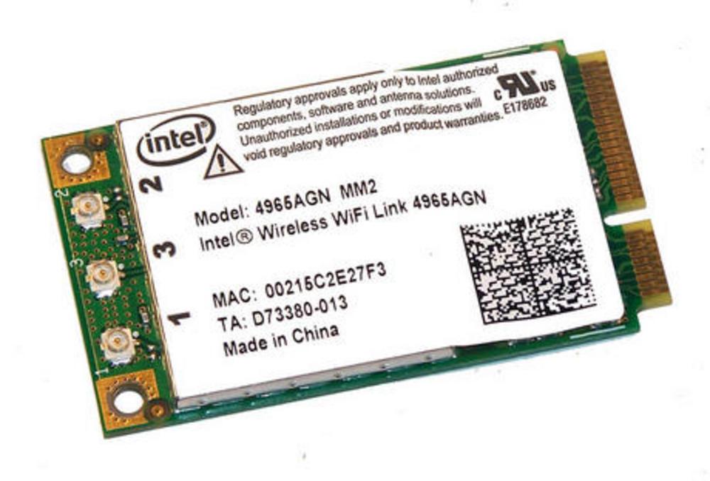 Intel D73942-001 WLAN Mini PCIexpress Card 4965AGN WiFi 300Mbps 802.11a/b/g/n