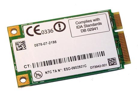 Intel D73942-001 WLAN Mini PCIexpress Card 4965AGN WiFi 300Mbps 802.11a/b/g/n Thumbnail 2