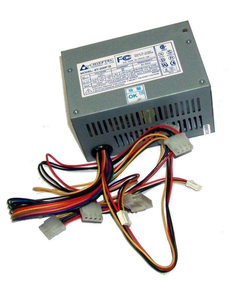 Chieftec ST-200P III 200W Power Supply