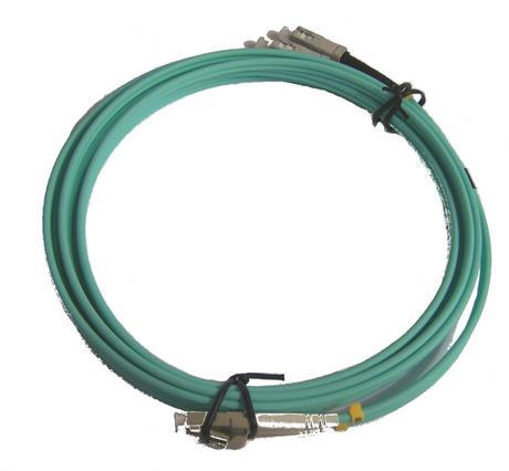 New Aqua PCOM3LCSCDX3AAA 3m LC/UPC- SC/UPC MM DX 3.0mm OM3 Fibre Cable Thumbnail 2