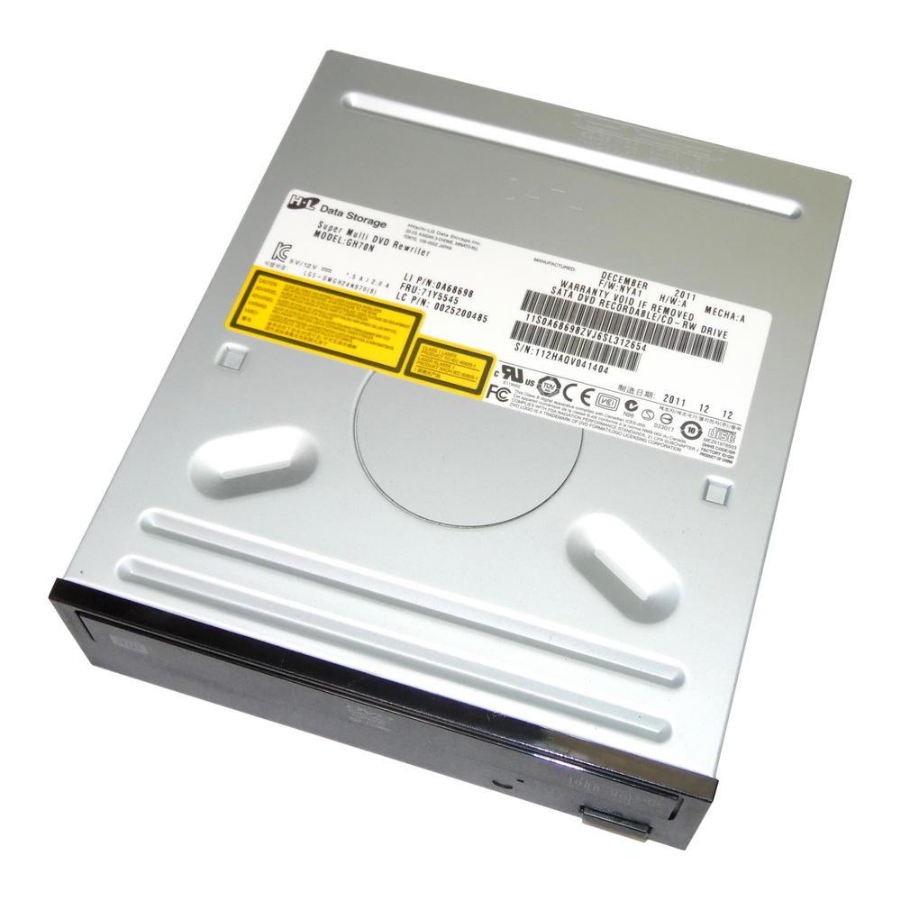 Lenovo 0A68698 ThinkCentre Edge71 SATA DVD+R DL Drive | HL GH70N FRU 71Y5545