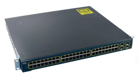 Cisco Catalyst WS-C3560G-48TS-S 48 Port 1U Gigabit Ethernet Switch With Ears