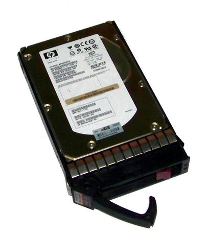 "HP 466277-001 400GB 10K 3.5"" LFF Fibre Channel DP Hard Disk Drive in EVA Caddy"