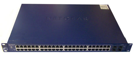 Netgear Prosafe 48 Port Gigabit Stackable Smart Switch GS748TS | with Ears