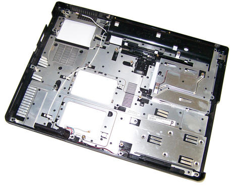 Dell HG492 Inspiron 1300 Lower Chassis Case Base Plastic | 0HG492 Thumbnail 2