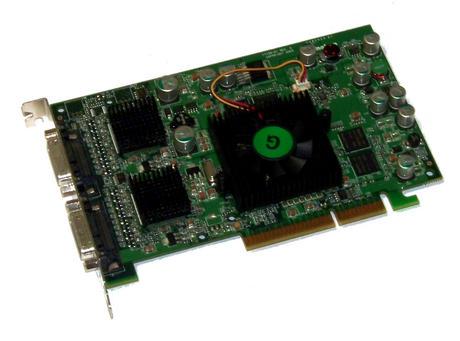 Matrox QID-QDA8X128F Parhelia 128MB Quad AGP 8X Graphics Card | Dual DMS-59