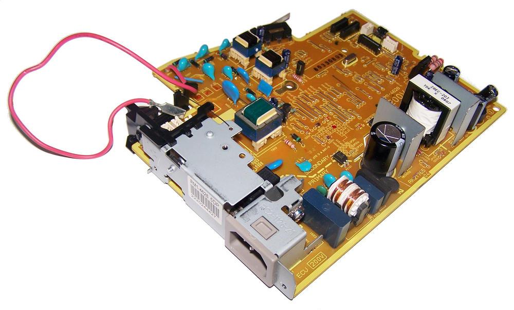 HP RM1-4628 LaserJet P1505 200V Power Supply / Engine Controller Board