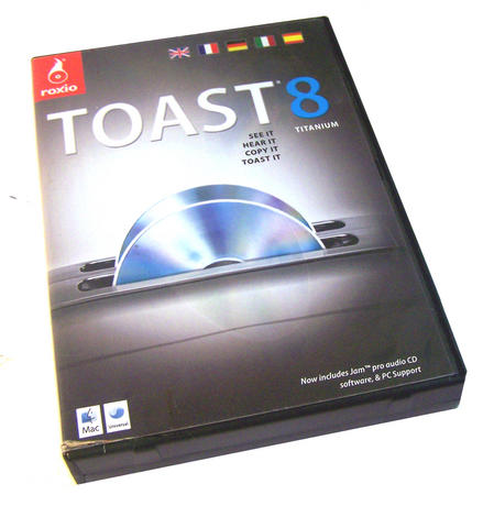 Genuine Roxio Toast 8 Titanium For Mac | Boxed