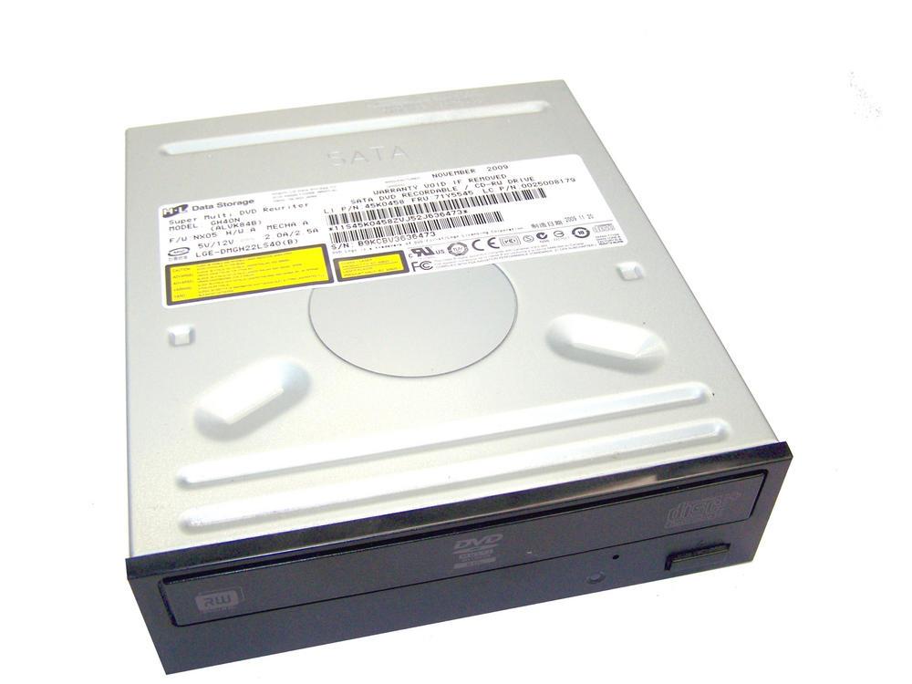 Lenovo 45K0458 ThinkCentre A58 7515-P1G SATA DVD+R Drive Model GH40N|FRU 71Y5545