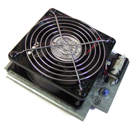 IBM 04N5121 Rear Fan Assembly pSeries 640 Model 7026-B80 | Papst 4112N/2H