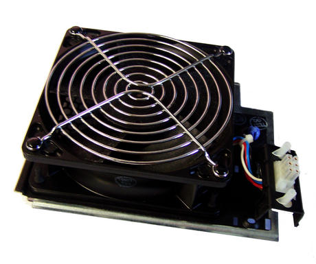 IBM 04N5124 Front Fan Assembly pSeries 640 Model 7026-B80 | Papst 4112 N/2H