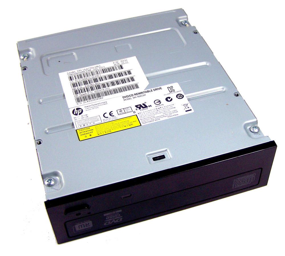 HP 575781-801 Black Bezel SATA H/H DVD DL Recorder Drive | Model DH-16ACSH