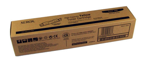 Genuine Xerox 106R01084 Phaser 6300 High Capacity Yellow Toner Cartridge