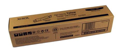 Genuine Xerox 106R01084 Phaser 6300 High Capacity Yellow Toner Cartridge