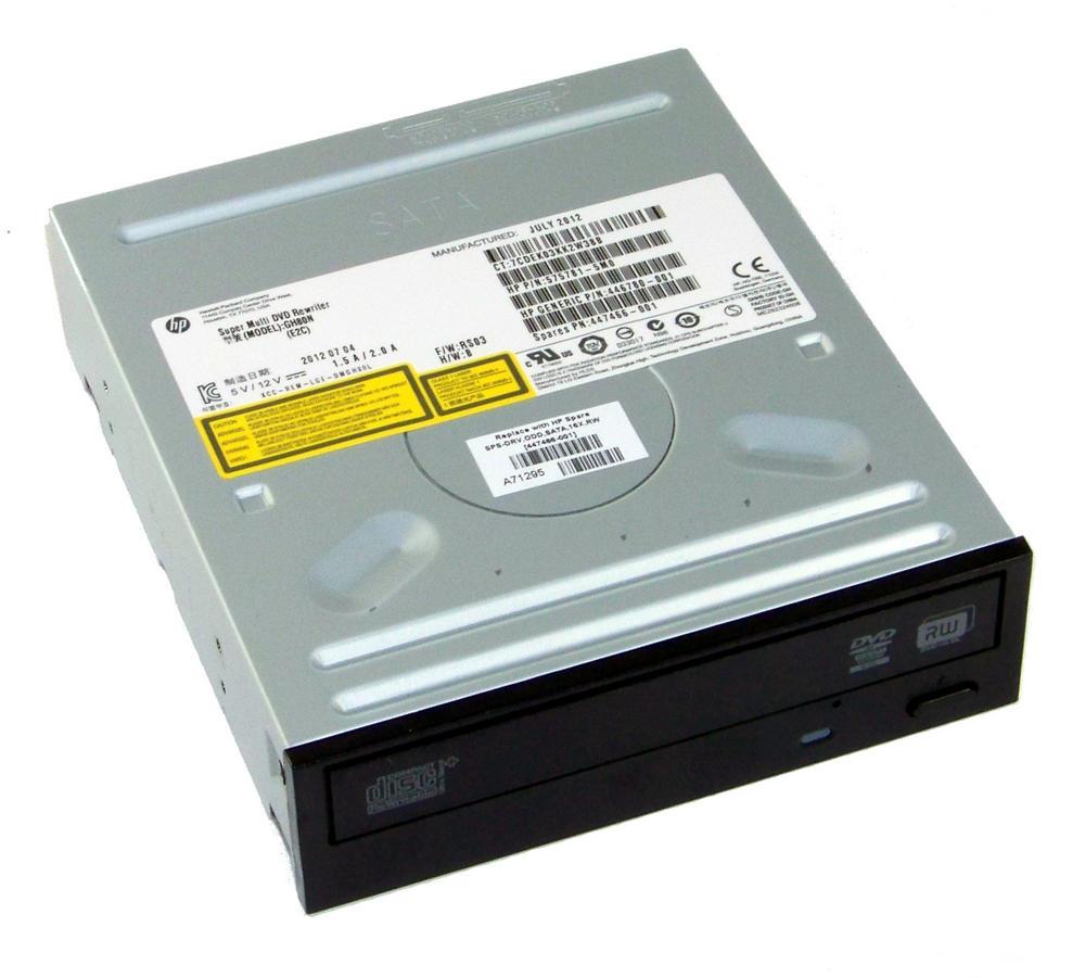 HP 575781-5M0 Black Bezel SATA H/H DVD DL Recorder Drive | GH80N SPS 447466-001