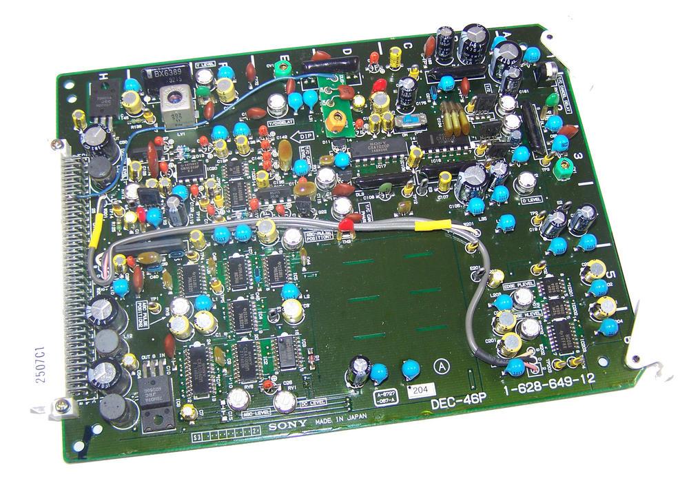 Sony DEC-46P Video Cassette Recorder TTV 3575 P Betacam SP Board | 1-628-649-12
