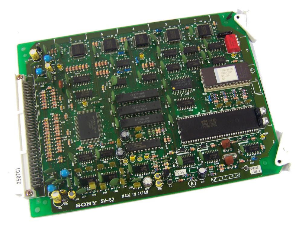 Sony SV-82 Video Cassette Recorder TTV 3575 P Betacam SP Board | 1-622-582-14