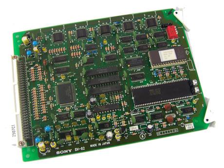 Sony SV-82 Video Cassette Recorder TTV 3575 P Betacam SP Board | 1-622-582-14 Thumbnail 1