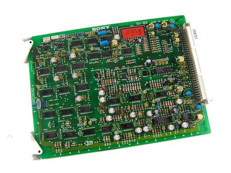 Sony SV-83 Video Cassette Recorder TTV 3575 P Betacam SP Board | 1-622-583-13 Thumbnail 1