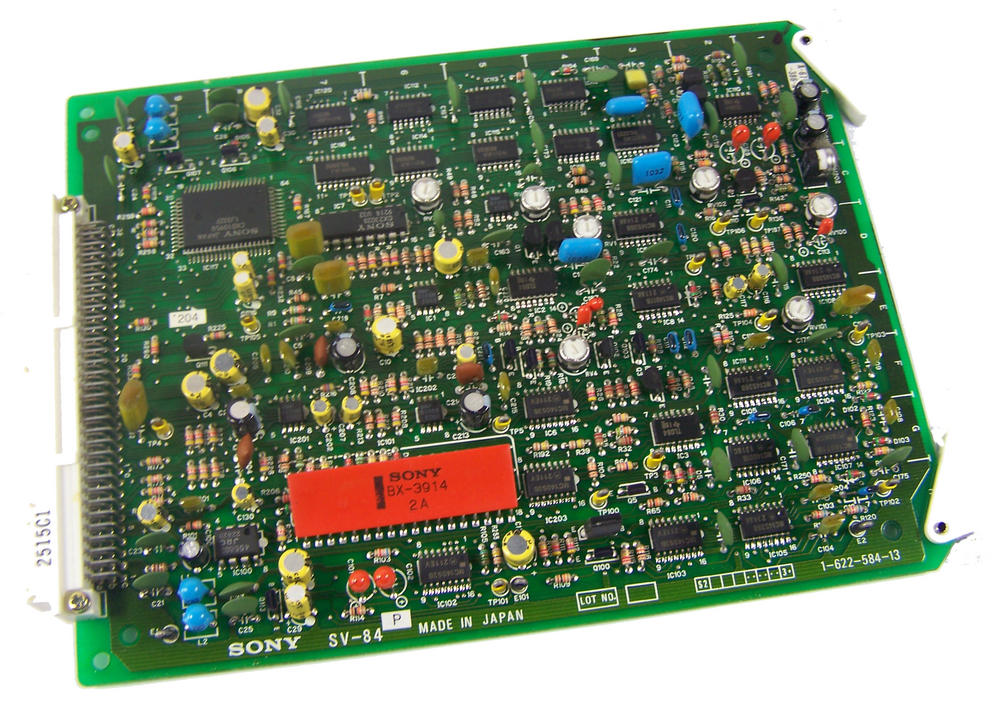 Sony SV-84 Video Cassette Recorder TTV 3575 P Betacam SP Board | 1-622-584-13
