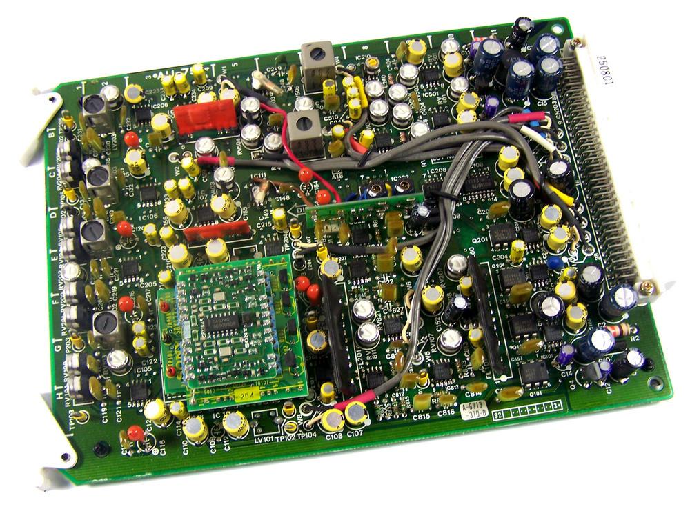 Sony AU-75 Video Cassette Recorder TTV 3575 P Betacam SP Board | 1-622-567-13
