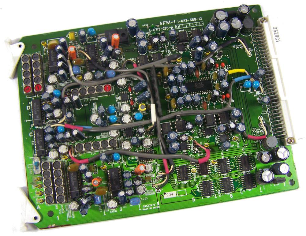 Sony AFM-1 Video Cassette Recorder TTV 3575 P Betacam SP Board | 1-622-569-13