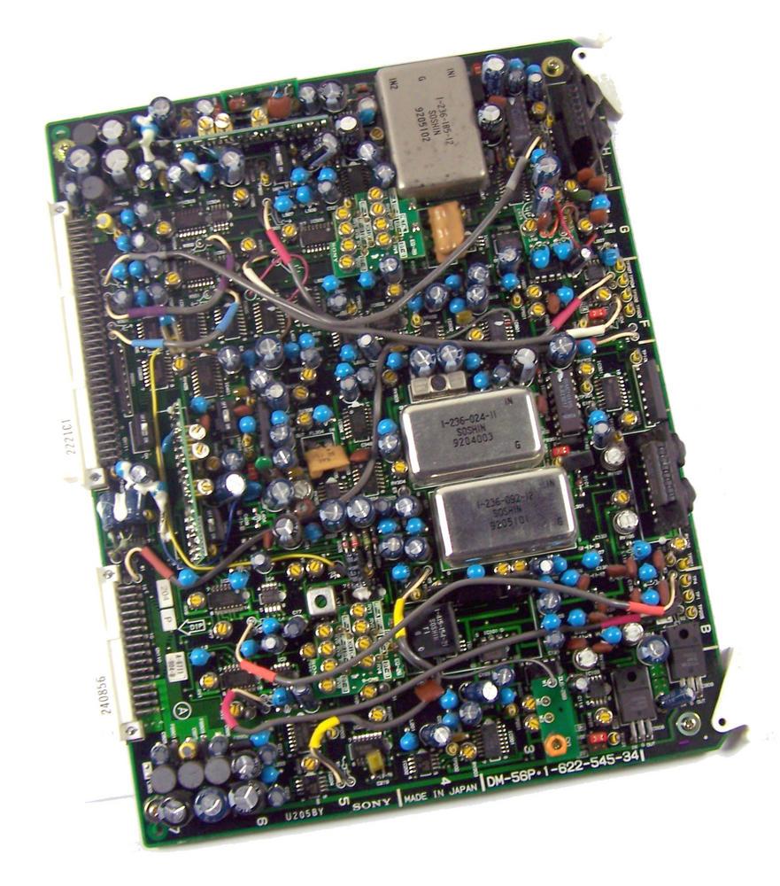Sony DM-56P Video Cassette Recorder TTV 3575 P Betacam SP Board | 1-622-545-34