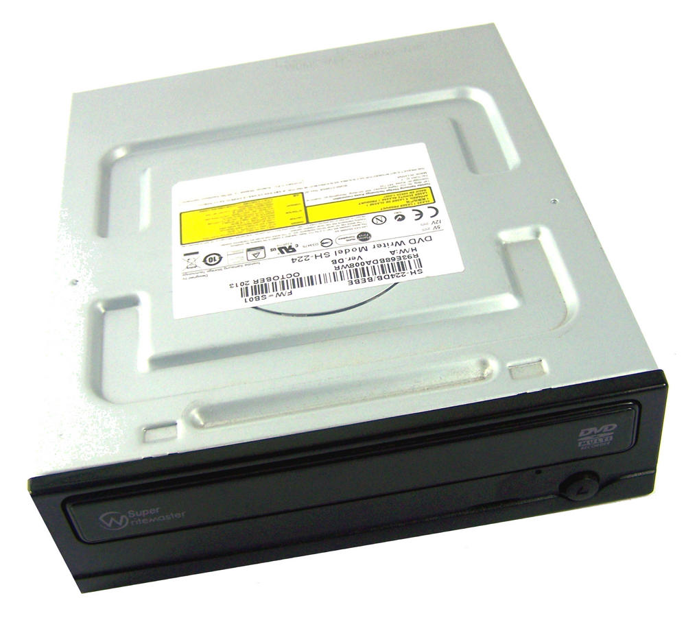 Samsung SH-224DB/BEBE Half Height SATA DVD Recorder Drive | Model SH-224