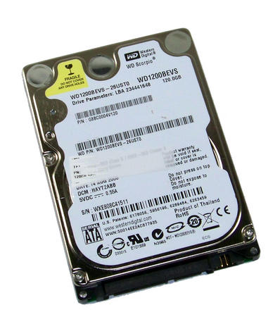 "Toshiba G8BC0004V120 Scorpio 120GB 5.4K 2.5"" SATA Hard Disk Drive| HAYT2ABB Thai"