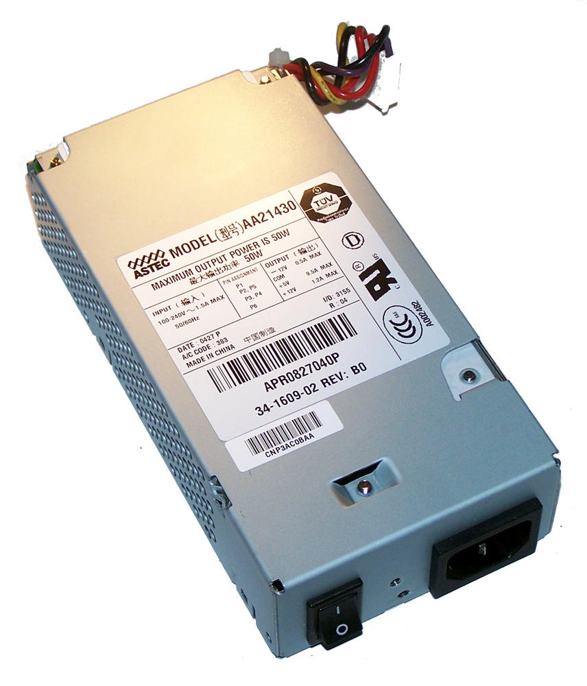 Cisco 34-1609-02 1760 50W AC Power Supply | Astec AA21430 PWR-1760-AC=