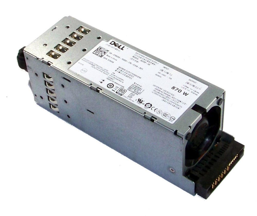 Dell 7NVX8 PowerEdge T610 870W Redundant Power Supply | 07NVX8