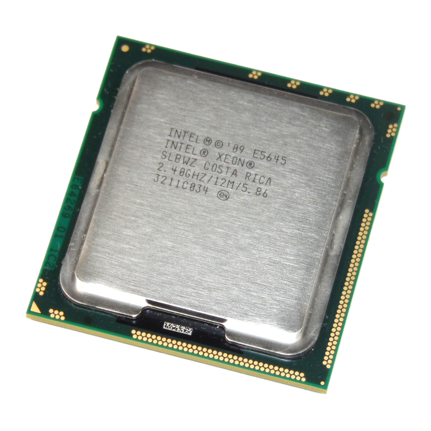 Processor w//Grease Intel Xeon E5645 2.4GHz Six Core SLBWZ AT80614003597AC