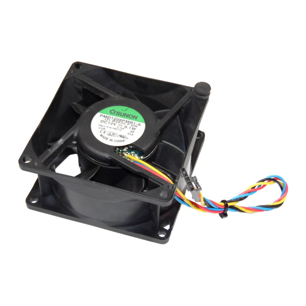 Dell YW713 OptiPlex 755 Model DCCY SFF Fan | Sunon PMD1208PMB1-A  0YW713