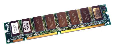 Apacer 71.73320.103 (128MB SDRAM PC100U 100MHz DIMM 168-pin) Memory