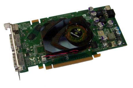Dell WH242 Quadro FX 3500 256MB PCIe Graphics Card , Standard Bracket Thumbnail 1