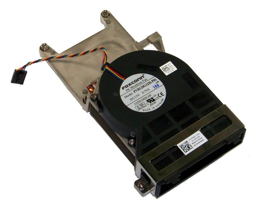 Dell FVMX3 OptiPlex 790 SFF  CPU Heatsink and Fan