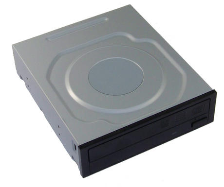 Dell FY13D SATA H/H DVD-RW Drive with Black Bezel Model DH-16AES | 0FY13D Thumbnail 1