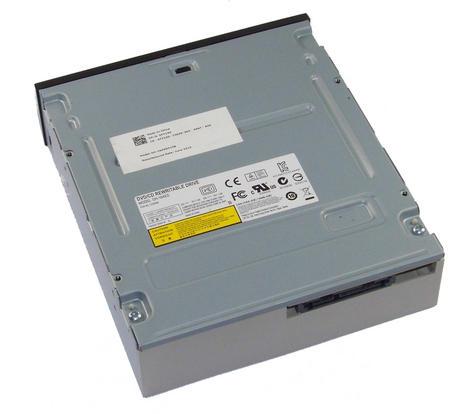 Dell FY13D SATA H/H DVD-RW Drive with Black Bezel Model DH-16AES | 0FY13D Thumbnail 2