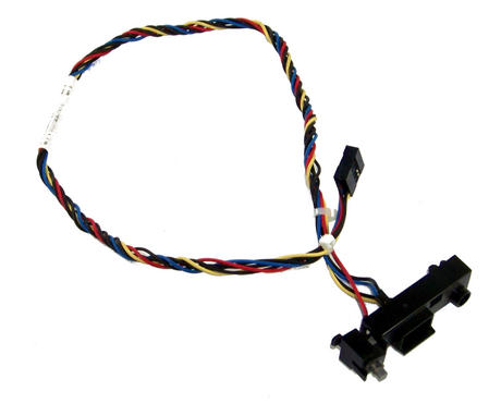 HP 644073-001 Pro 3400 MT Microtower Power Switch and LED Assembly Thumbnail 1