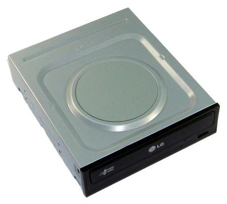HL Data GH22NS70 SATA H/H DVD-RW Recorder | Black Bezel Thumbnail 1