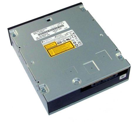 HL Data GH22NS70 SATA H/H DVD-RW Recorder | Black Bezel Thumbnail 2