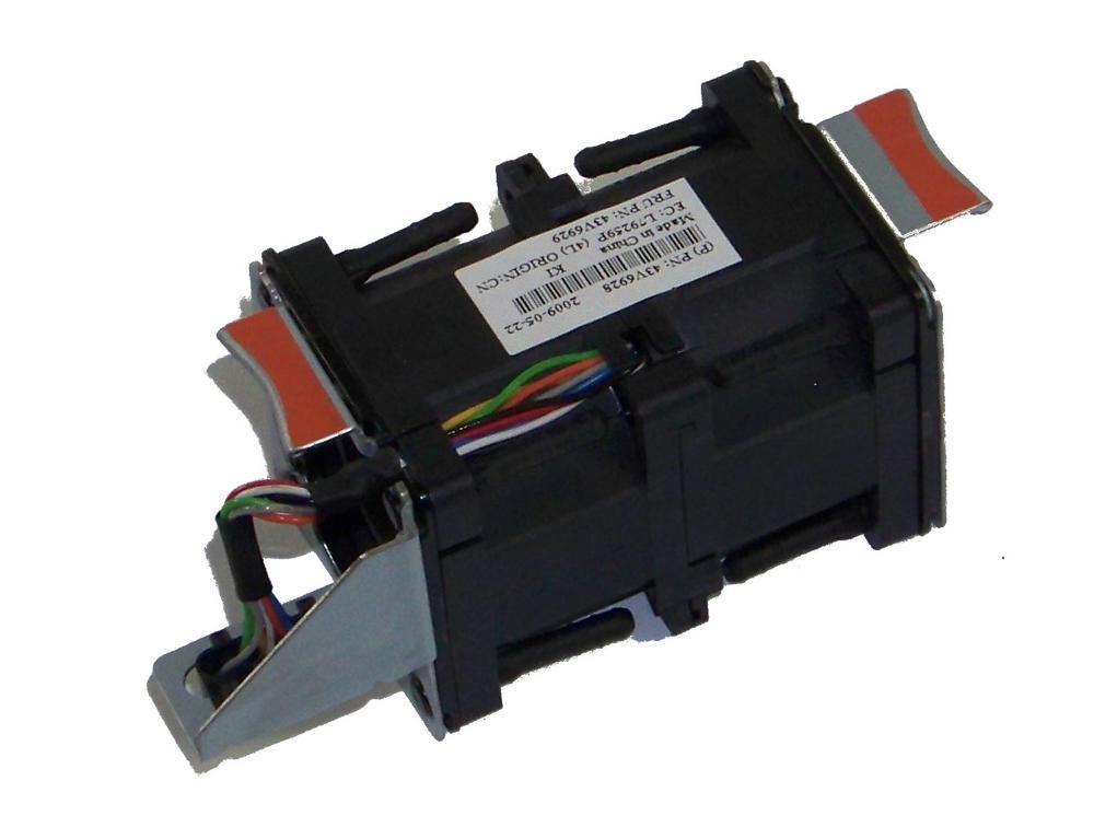 IBM 43V6928 X3550 M2 7946 40mm Redundant Fan Module | FRU 43V6929