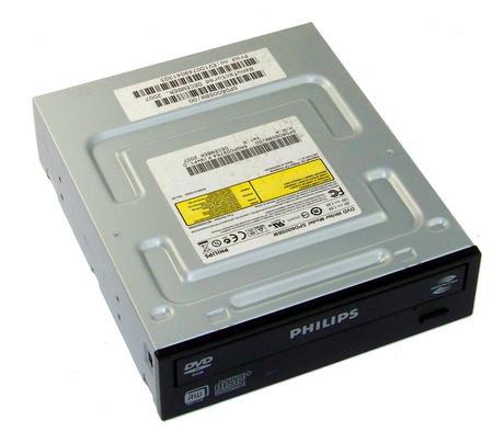 Philips SPD6005BM/000B ATA H/H DVD+R D/L DVD Writer Drive | Black Bezel Thumbnail 1