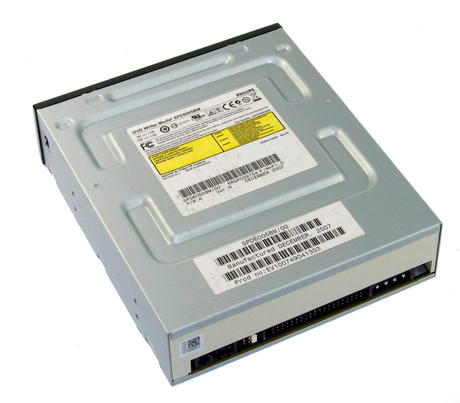 Philips SPD6005BM/000B ATA H/H DVD+R D/L DVD Writer Drive | Black Bezel Thumbnail 2