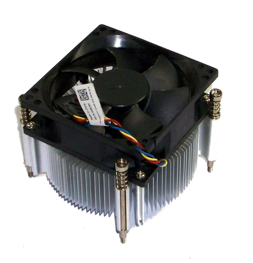 Dell G8CNY 9010 MT Mini Tower D09M Socket H2 Processor Heatsink and Fan 0G8CNY