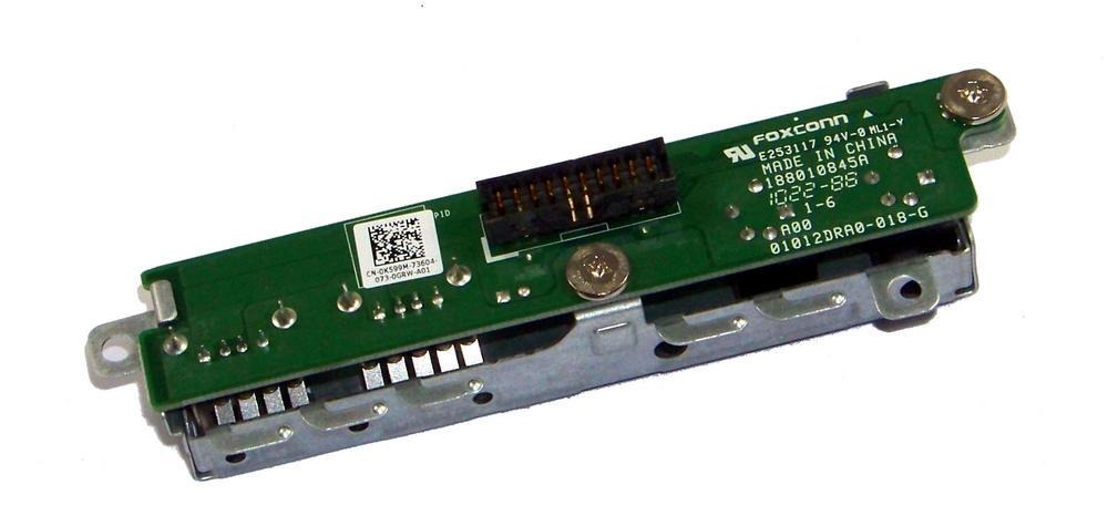 Dell K599M OptiPlex 780 D01U USFF Front IO Ports USB and Audio | 0K599M
