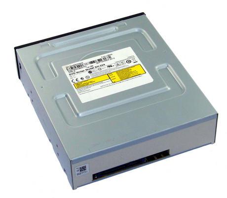 TSST SH-224BB/RSMS SH-224 Half Height SATA DVD Recorder Drive | Black Bezel Thumbnail 2